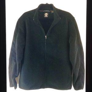 Timberland Zipper Front Long Sleeve Fleece Jacket